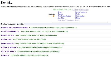 site-links-google
