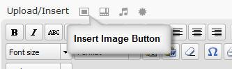 Insert WordPress image