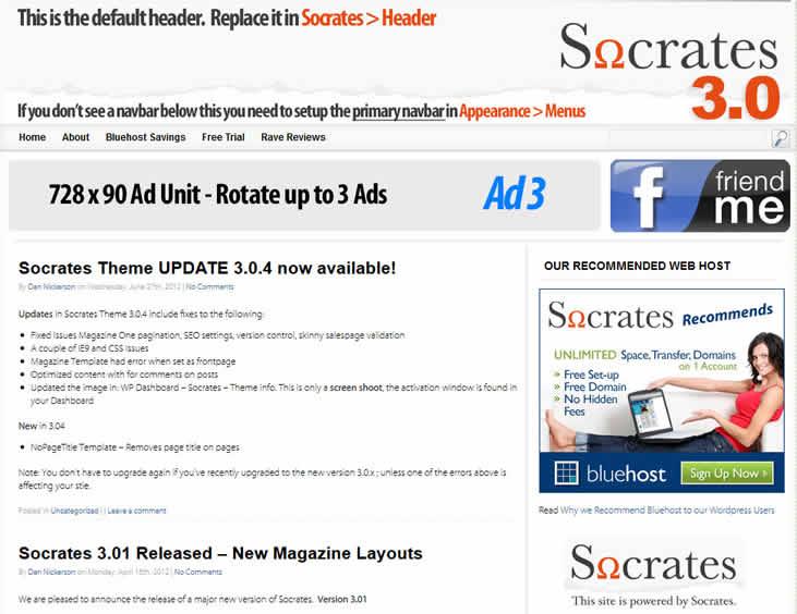 socrates premium affiliate theme