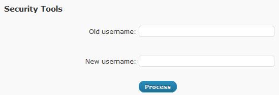 wp optimize username